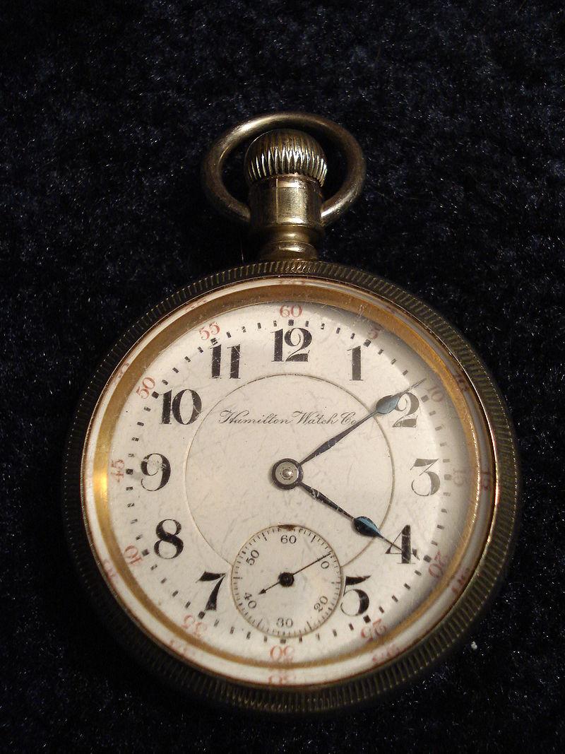 Hamilton Pocket Replica Watch, circa 1904