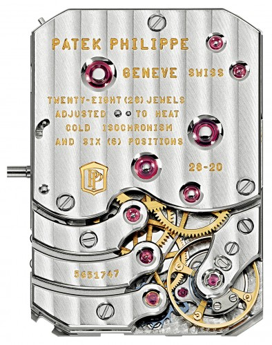 Patek Philippe Ref. 5200 Gondolo 8 Days, Day & Date Indication