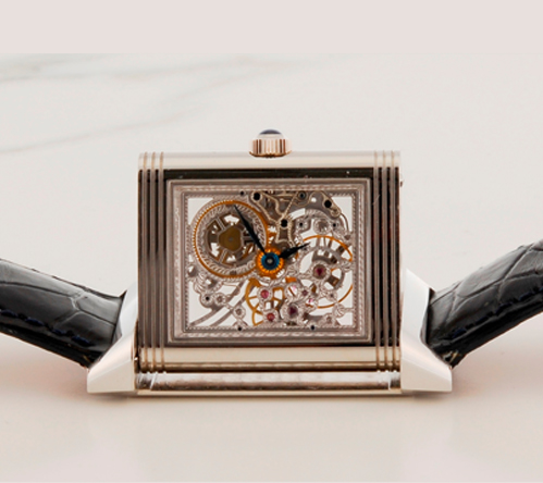 Jaeger-LeCoultre Reverso Art Deco Platinum Replica Watch
