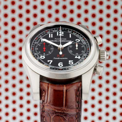 Best Girard Perregaux Limited Edition Scuderia Ferrari Rattrapante Foudroyante Replica Watch