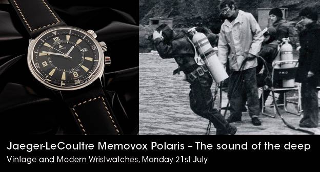 Up Close With The Jaeger-LeCoultre Memovox Polaris Replica Watch