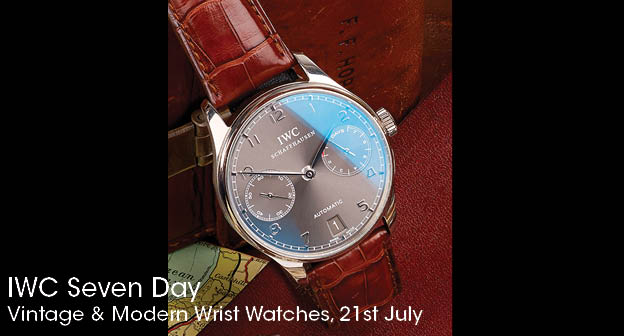 Reviewing The Most Popular IWC Portuguese 7-Day Power Reserve Replica Watch