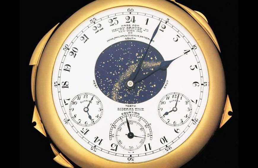 Auctions: Yellow Gold Patek Philippe Supercomplication Replica Watch on sale at Sotheby's