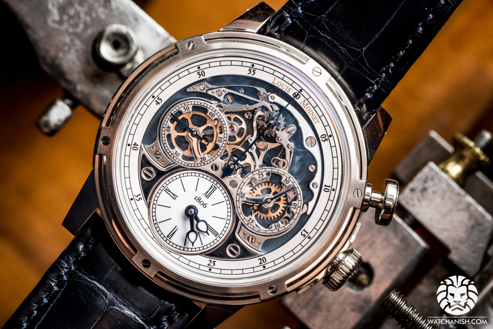 Baselworld 2015: The First Replica Louis Moinet Chronograph Memoris Rose Gold Watch