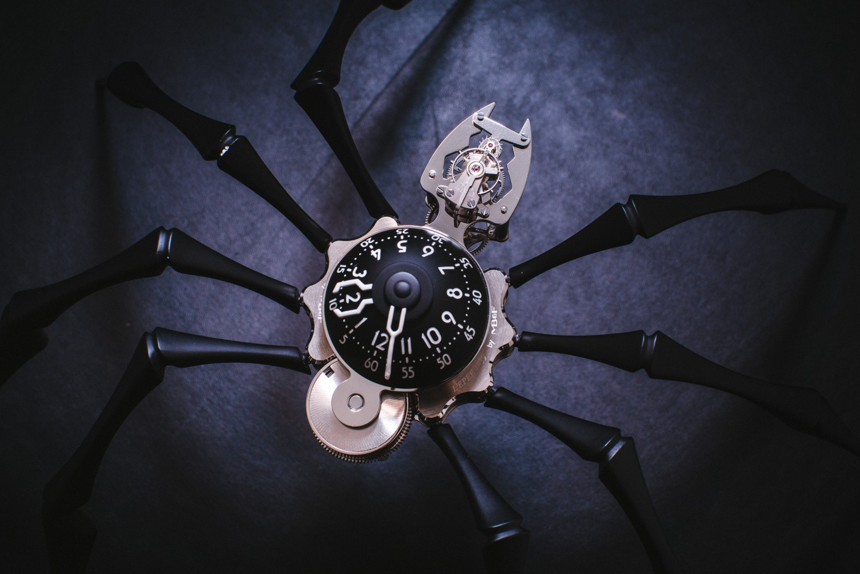 Latest Complex Mechanics MB&F M.A.D. Gallery's Wrapped in Alien Clothes