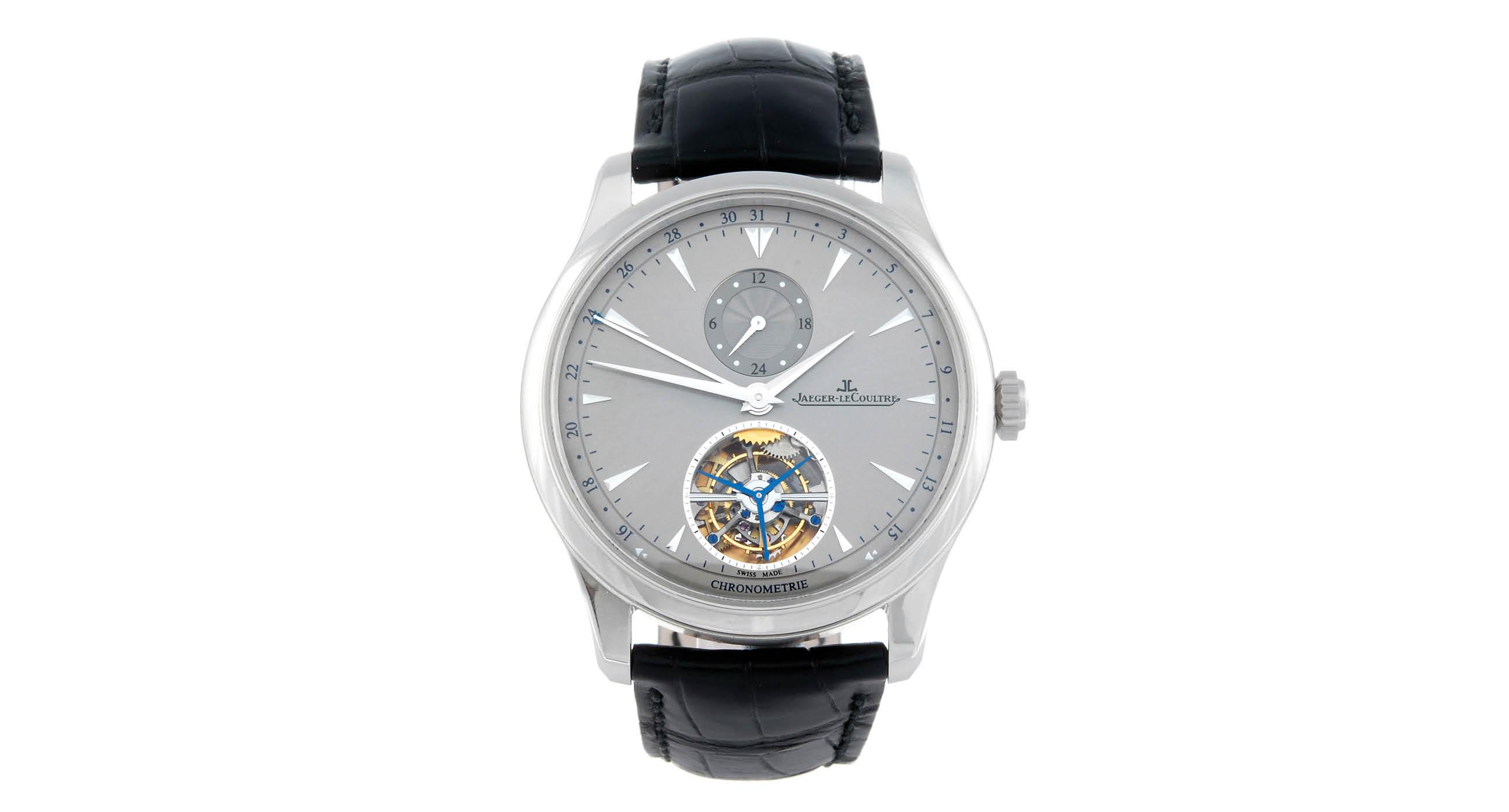 Meet The Pretty And Unique Jaeger-LeCoultre Master Grande Tradition à Tourbillon 43 Replica Watch