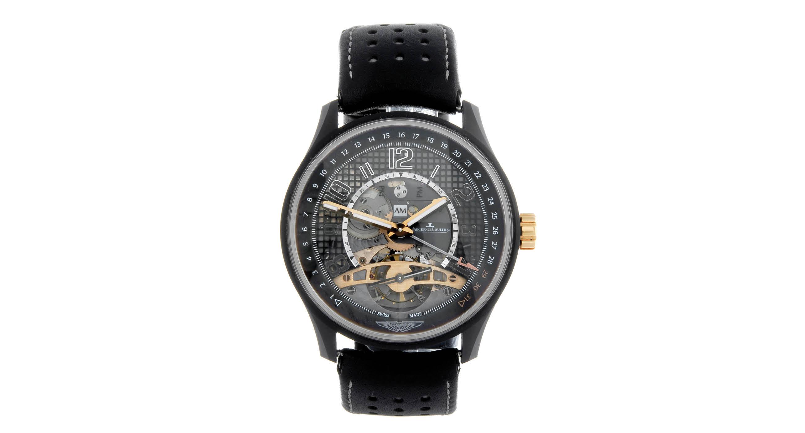 Swiss Jaeger-LeCoultre AMVOX3 Tourbillon GMT Replica Watch