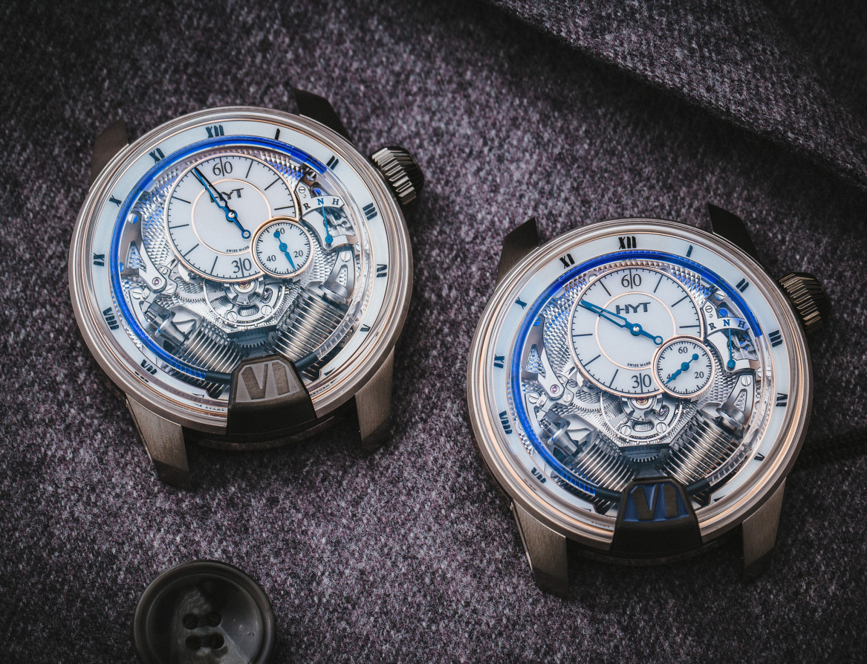 Reviewing The Perfect Awesome 2016 HYT Tradition H1 Iceberg Fake Watch
