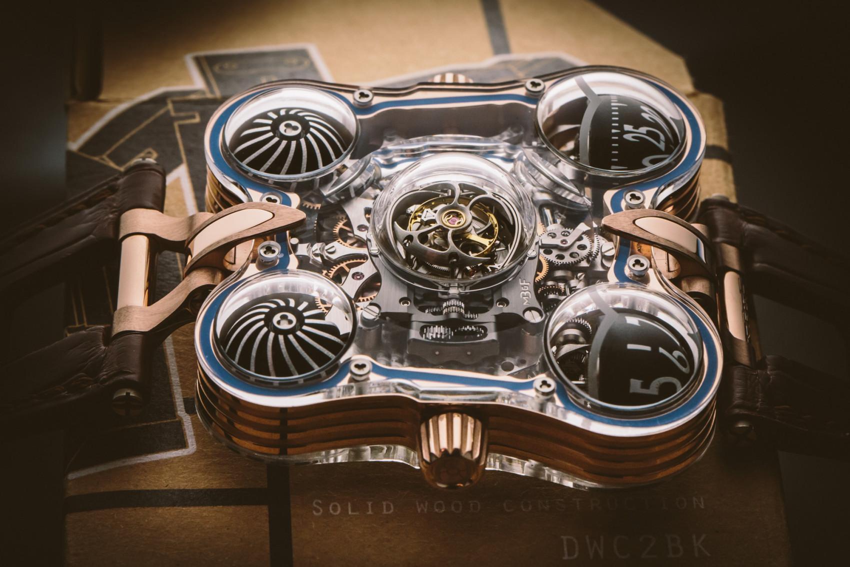 SIHH 2016 Reviewing MBF HM6 SV Craziest Replica Watch