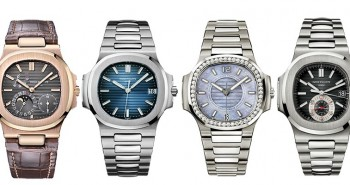 Elegant replica Patek Philippe Ladies Nautilus are available in diamond-studded Ref.7118 / 1200R-00