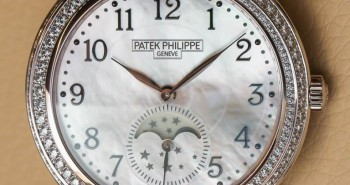 Rose Gold Patek Philippe Ladies' Complications Moon Phase Replica Watch 4968R-001