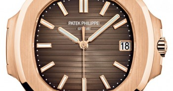 This Elegant Pink Gold Patek Philippe Nautilus Ref. 5711/1R Was Presented at Baselworld 2015