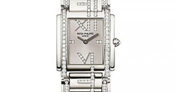Ladies Patek Philippe Twenty~4 Stainless Steel Diamonds Replica Watch 4910/48G
