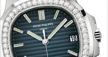White Gold Blue Dial Patek Philippe Joaillerie Nautilus Replica 5713/1G & 5722G