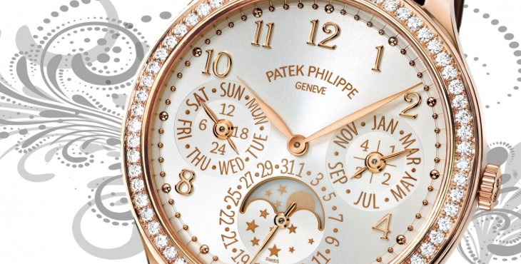 Meet The Rose Gold Diamonds Patek Philippe Ref. 7140 Ladies First Perpetual Calendar Watch Replica
