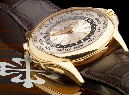 The Elegant Rose Gold Patek Philippe Grand Complications World Time Watch Replica 5130R/RG