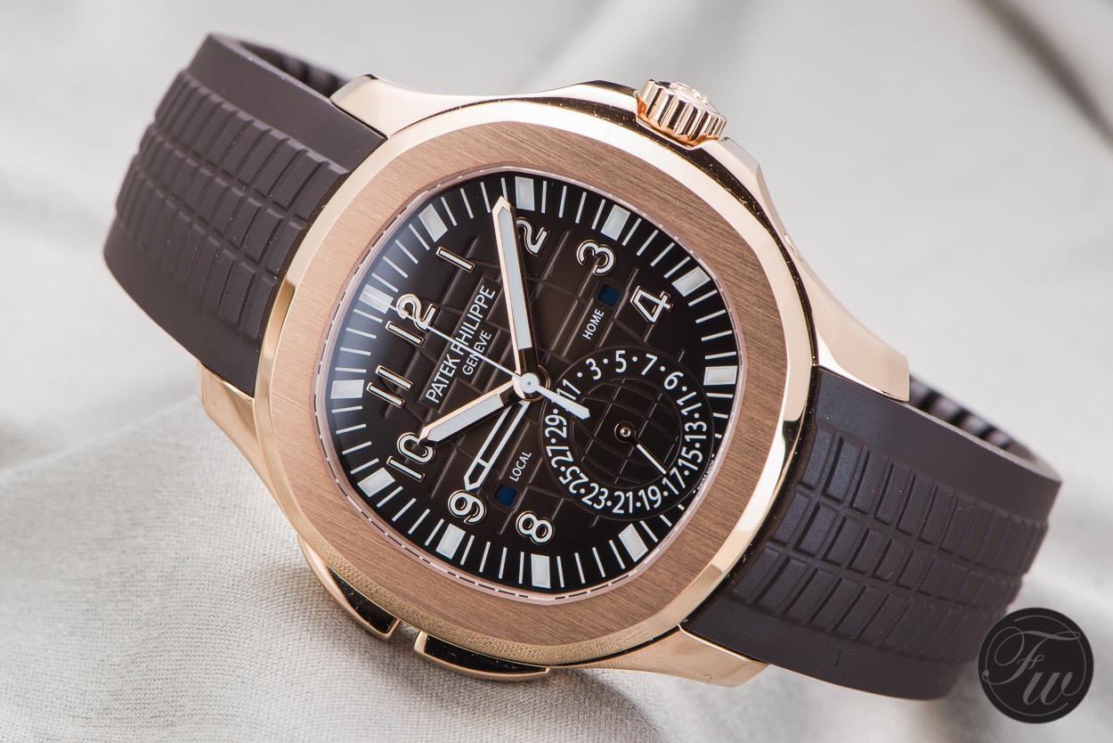 PATEK PHILIPPE AQUANAUT TRAVEL TIME 5164R watch replica