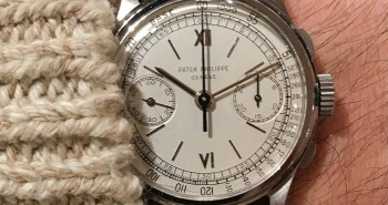 The High End White Dial Patek Philippe 130 Chronograph Replica Watch