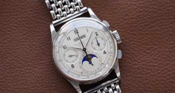 Steel Patek Philippe Grand Complications Ref.1518 Perpetual Calendar Chronograph Copy Watch