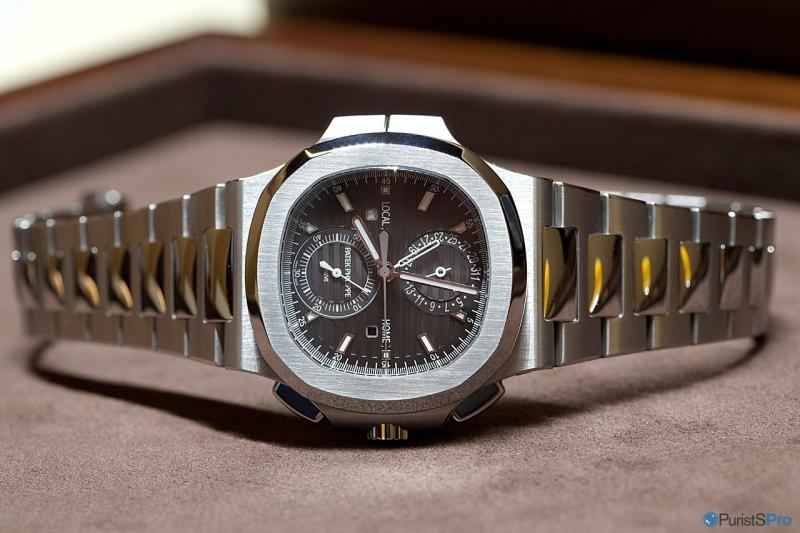 Patek Philippe Nautilus Travel Time Chronograph - Ref. 5990/1A replica