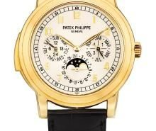The Luxury Yellow Gold Patek Phlippe Grand Complication Moon Phase Copy Watches