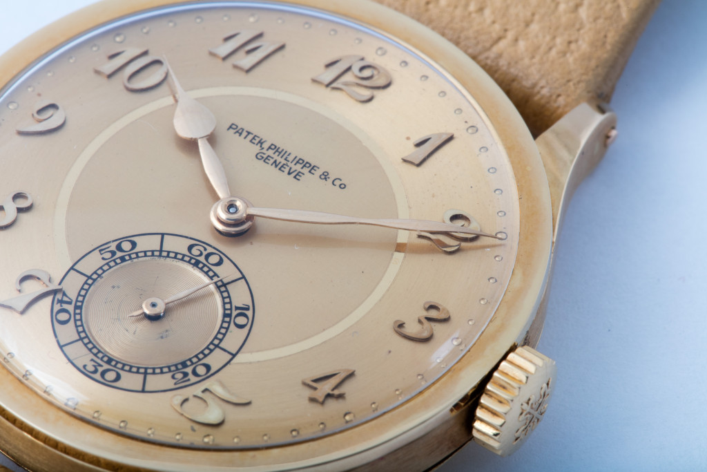 yellow gold Patek Philippe Calatrava watch replica