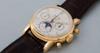 Yellow Gold Patek Philippe Ref.2499 Perpetual Calendar Chronograph Copy Watches