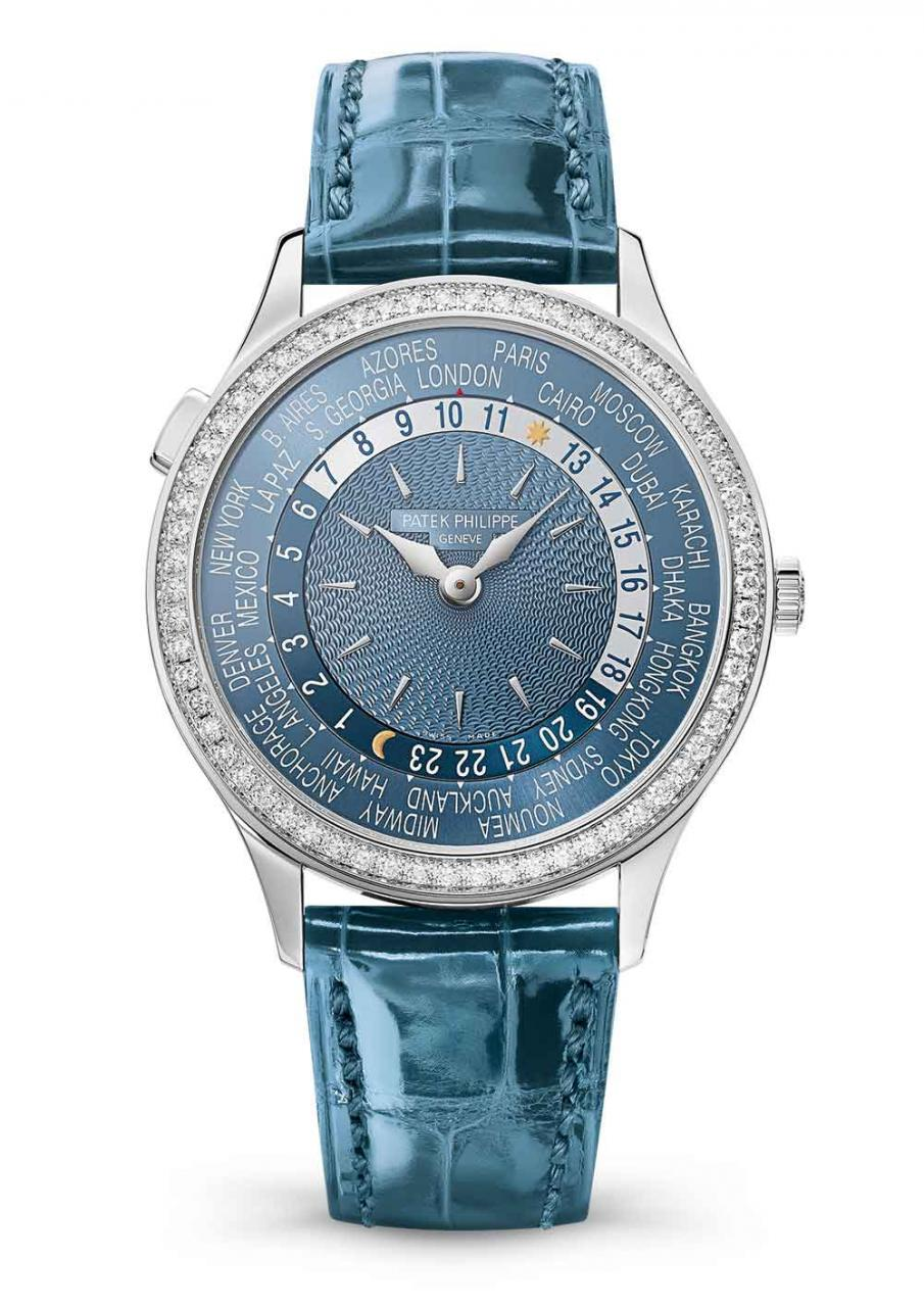 Patek Philippe 7130 ladies' World Time replica watch
