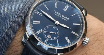 Where To Buy Ulysse Nardin Classico Manufacture 'Grand Feu' Blue Enamel Dial Watch Hands-On Replica Watches Online Safe