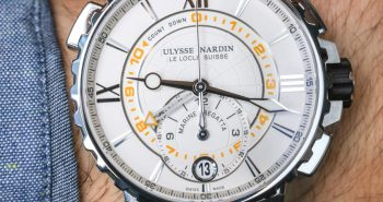 Good Quality Ulysse Nardin Marine Regatta Watch Hands-On Perfect Clone Online Shopping