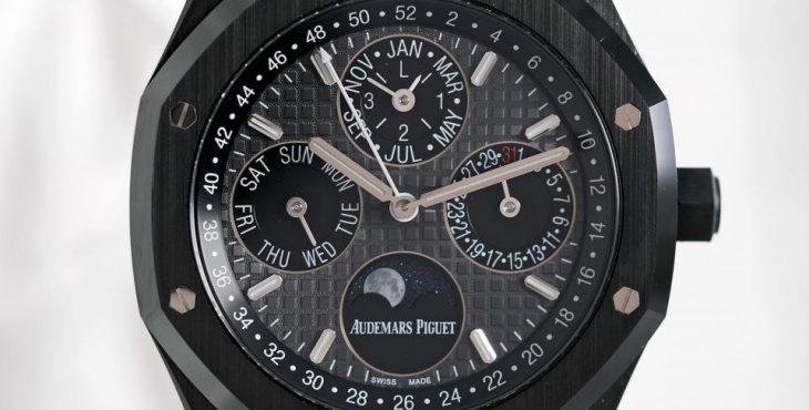 Audemars Piguet Royal Oak Perpetual Calendar Black Ceramic 01