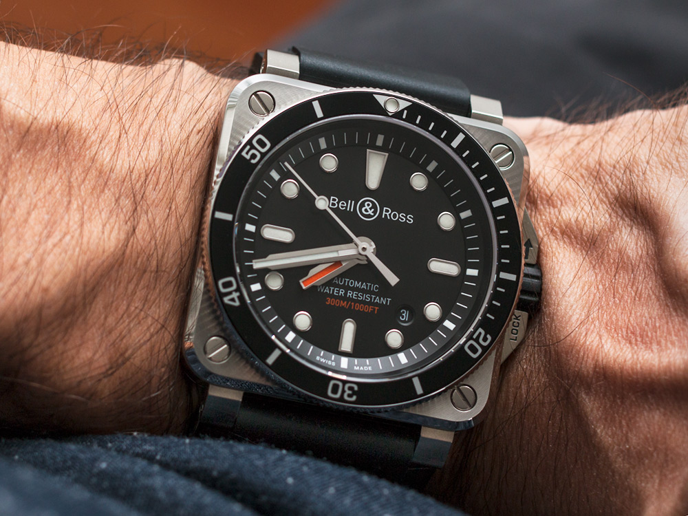 Bell & Ross BR 03-92 Diver Watch Review Wrist Time Reviews