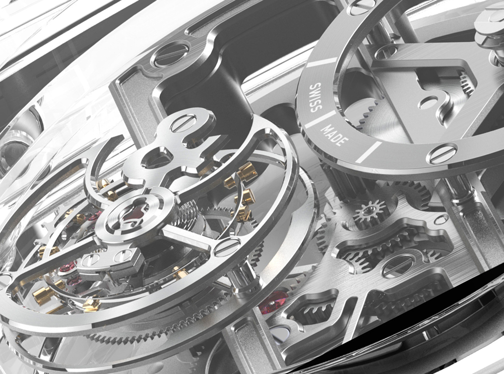 Bell & Ross BR-X1 Skeleton Tourbillon Sapphire Watch Watch Releases