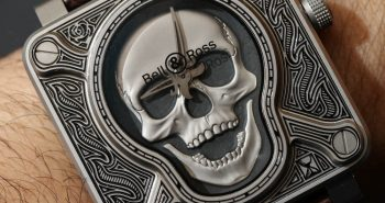 Bell & Ross BR01 Burning Skull 'Tattoo' Watch Hands-On Replica Trusted Dealers