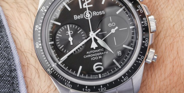 Bell & Ross Vintage Collection V1-92, V2-92, & V2-94 Black Steel Watches For 2017 Hands-On Hands-On