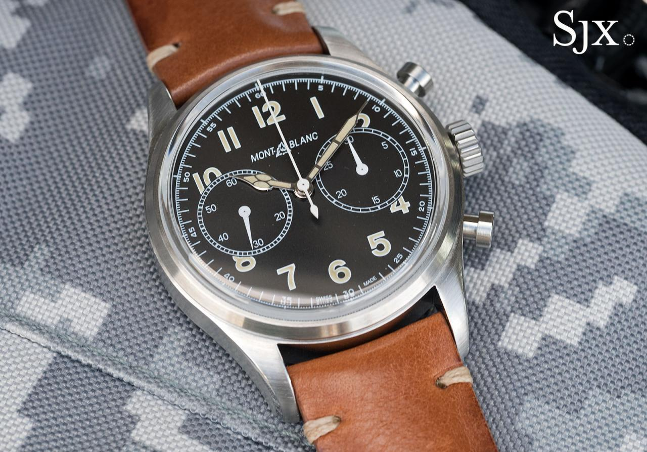 Montblanc 1858 Automatic Chronograph 1