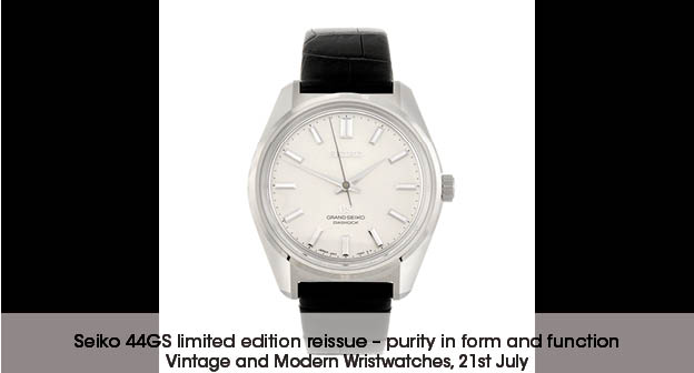 Grand Seiko Historical Collection 44GS Limited Edition Replica Watch Ref.SBGW047