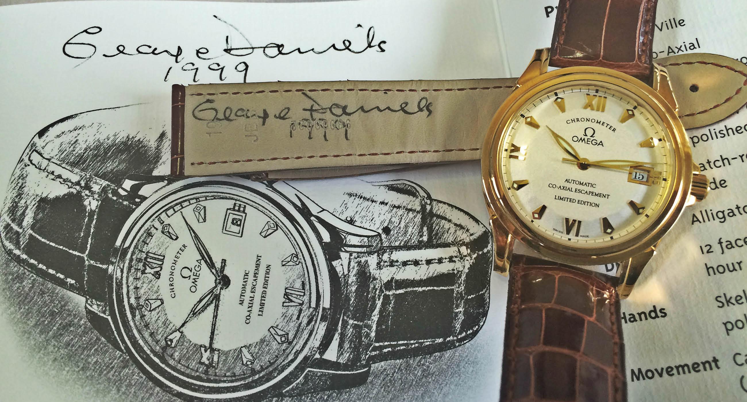 The Watch Sale: Omega Co Axial De Ville Replica Watch