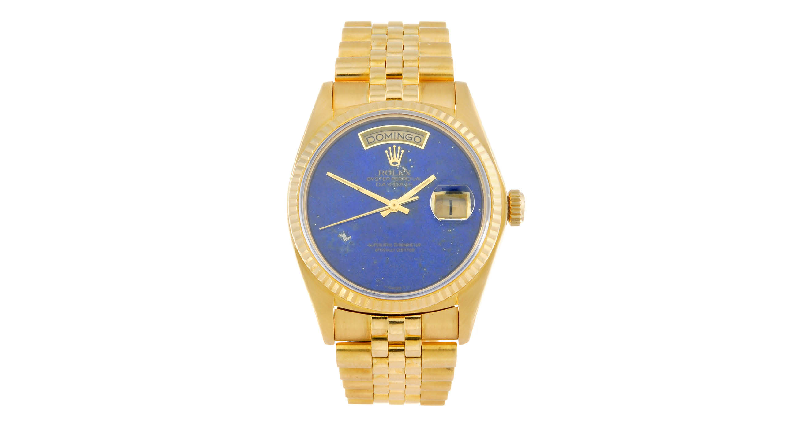 18ct yellow gold Rolex Oyster Perpetual Day-Date Replica Watch