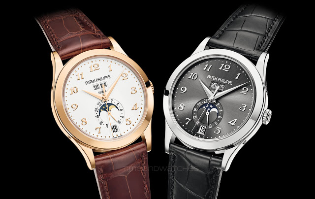 Moon Phases Patek Philippe Annual Calendar 5396 Mens Complications Replica Watch