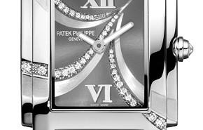 Luxury Diamonds Ladies' Patek Philippe Twenty~4 Quartz Watch Replica