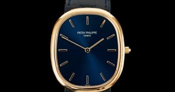 Yellow Gold Polished Patek Philippe Golden Ellipse Replica Watch Ref.3738/100J-012