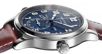 Patek Philippe Complications Calatrava Pilot Travel Time Double Time Zone Watch 5524G-001