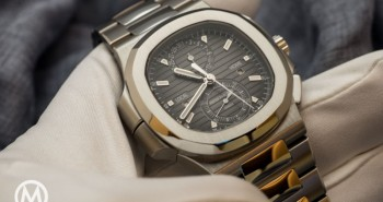 High-efficiency Patek Philippe Nautilus Travel Time Chronograph Fake Watch Ref.5990/1A-001
