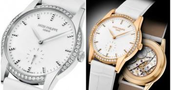 Replica Diamond-set Patek Philippe Calatrava Seconds Subdial Ladies' Timepiece Ref. 7122