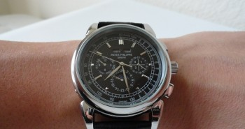 The Grand Complications Patek Philippe Perpetual Chronograph Black Dial Watch Replica