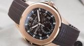 Presenting The Rose Gold Patek Philippe Aquanaut Travel Time 5164R Watch Replica