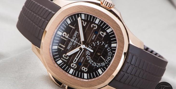 Patek Philippe Aquanaut Travel Time 5164R