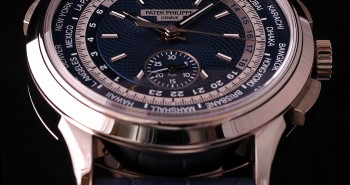 Reviewing The Blue Dial Patek Philippe 5930 World Time Chronograph Replica Watch
