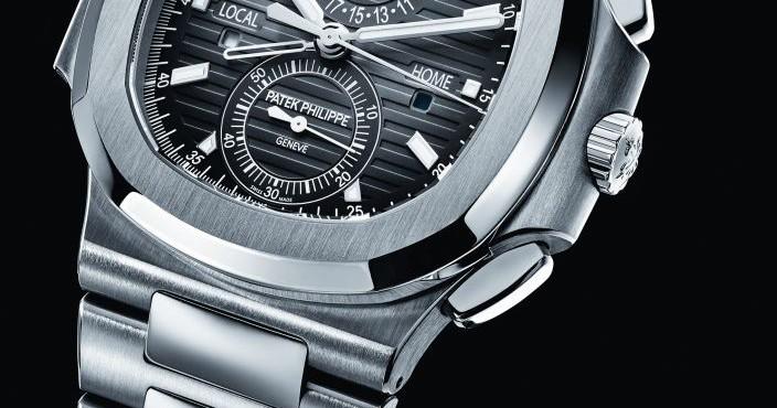 Patek Philippe Nautilus Travel Time Chronograph Replica Watch Ref.5990